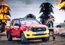 Bomberos franceses en la serie Lifesavers de Ford