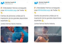 Movistar crea el hilo de Twitter más lago del mundo