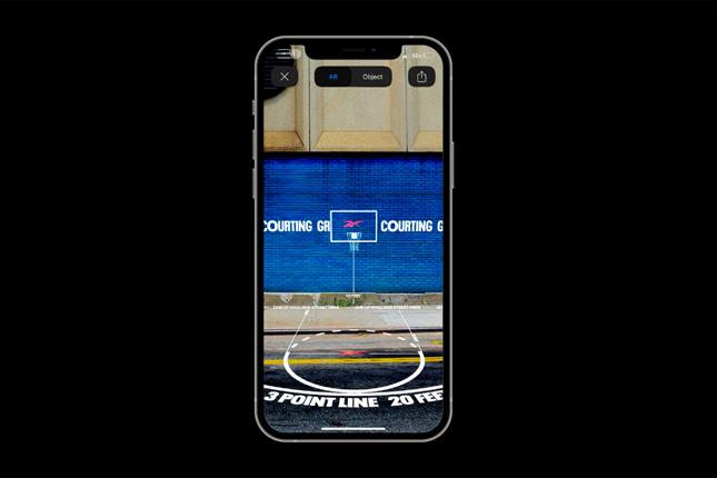 La campaña de Reebok sobre su app de IA que acerca el baloncesto a cualquier rincón de la ciudad