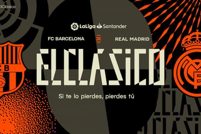 La Liga presenta la nueva identidad de marca de El Clásico