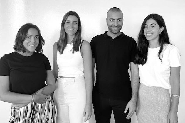 True Carla Herrera, Olmo Redondo, Elena Rodríguez y Loyola Arza