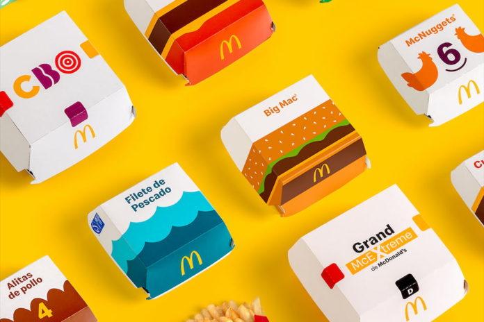nuevo packaging mcdonalds