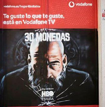 La nueva campaña de Vodafone llena Madrid de grafitis con la Ruta Fuera de Serie