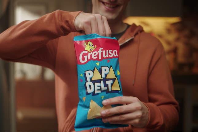Papadelta llega a televisión con el nuevo spot de la campaña global de Grefusa