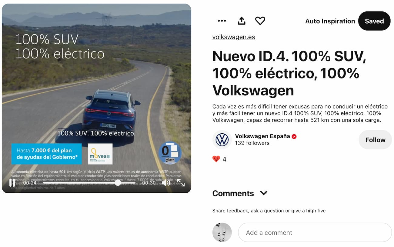 Volkswagen Pinterest Premiere Campaign