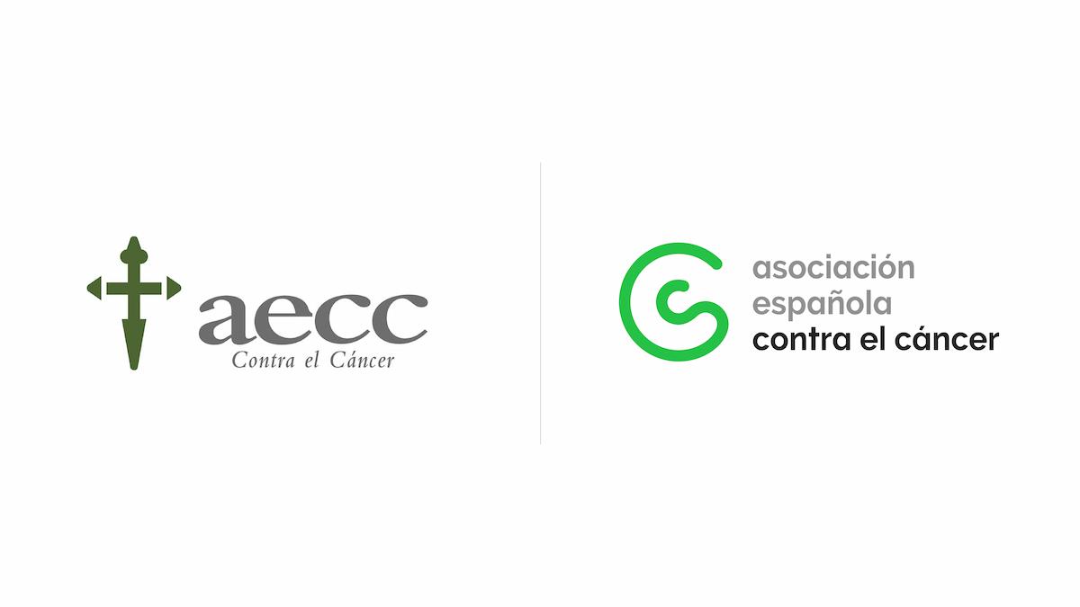 Logo aecc asociacion española contra el cáncer