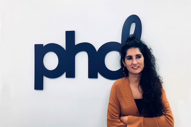 Laia Romagosa a directora de cuentas del departamento deConsumer PR & Lifestyle, en la oficina de Barcelona.